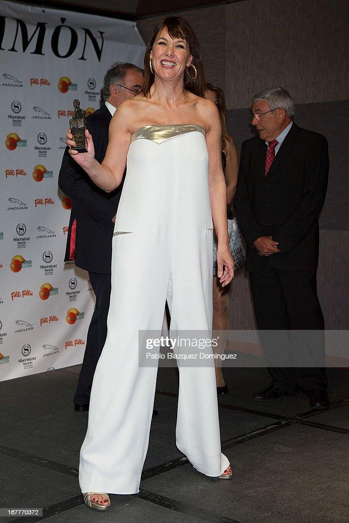Mabel Lozano attends 'Orange And Lemon' Awards ceremony at Sheraton Mirasierra Hotel on April 29, 2013 in Madrid, Spain.