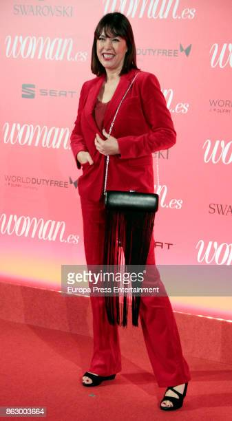 Mabel Lozano attends the 'Woman 25th anniversary' photocall at Madrid Casino on October 18 2017 in Madrid Spain