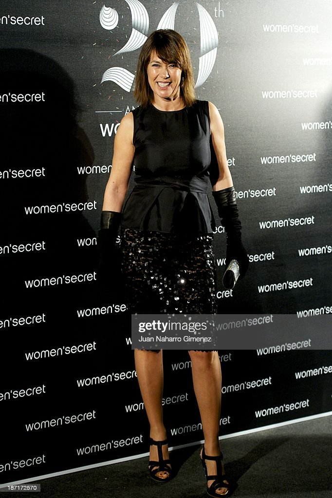 Mabel Lozano attends Women'secret New Collection presentation 20th anniversary at Botanic Garden on November 6, 2013 in Madrid, Spain.
