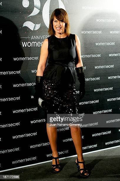 Mabel Lozano attends Women'secret New Collection presentation 20th anniversary at Botanic Garden on November 6 2013 in Madrid Spain
