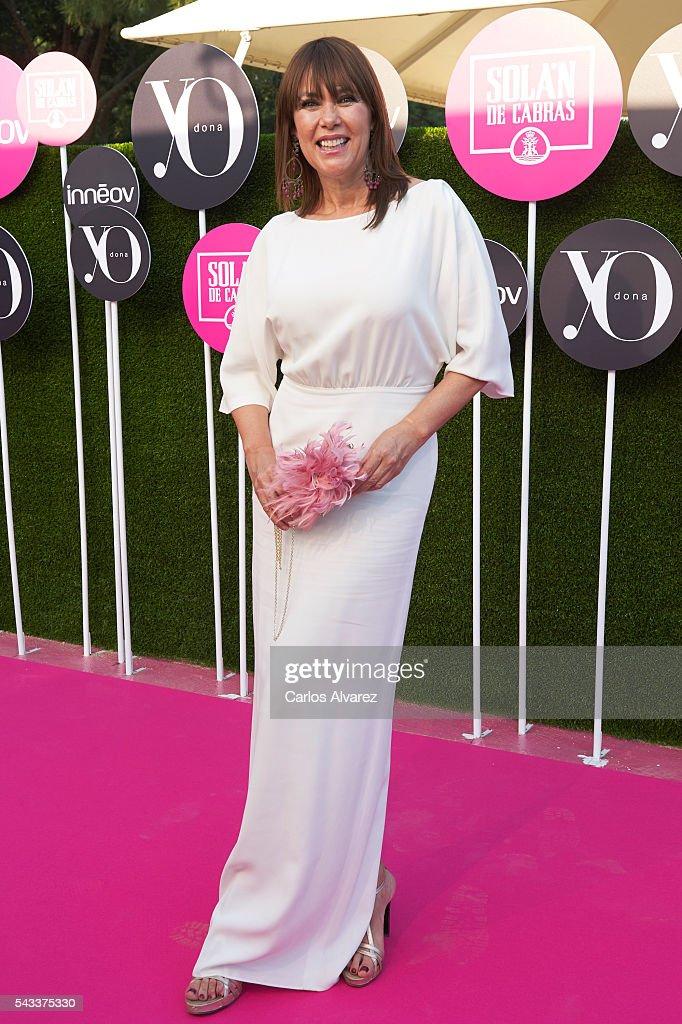 Mabel Lozano attends 'Yo Dona' International awards on June 27, 2016 in Madrid, Spain.
