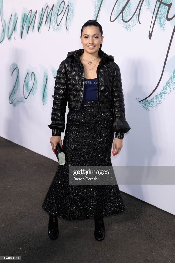 Mabel McVey attends the Summer Party 2017 presented by Serpentine and Chanel at The Serpentine Gallery on June 28, 2017 in London, England.