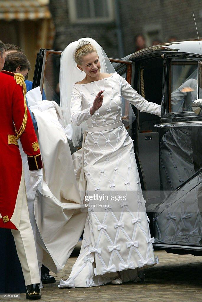 wedding of prince johan friso mabel wisse smit getty images. Black Bedroom Furniture Sets. Home Design Ideas