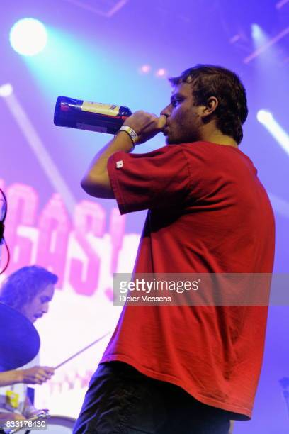 Mac DeMarco performs during Day 6 of Sziget Festival 2017 on August 14 2017 in Budapest Hungary