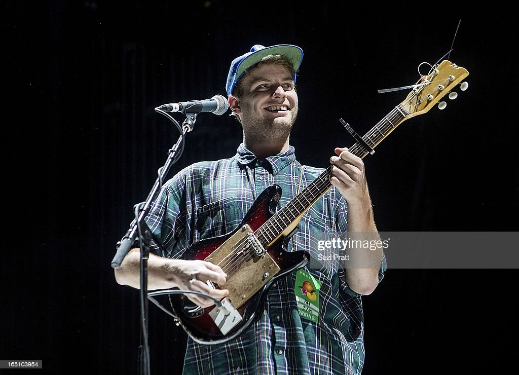 Mac Demarco performs live at Paramount Theatre on March 29, 2013 in Seattle, Washington.