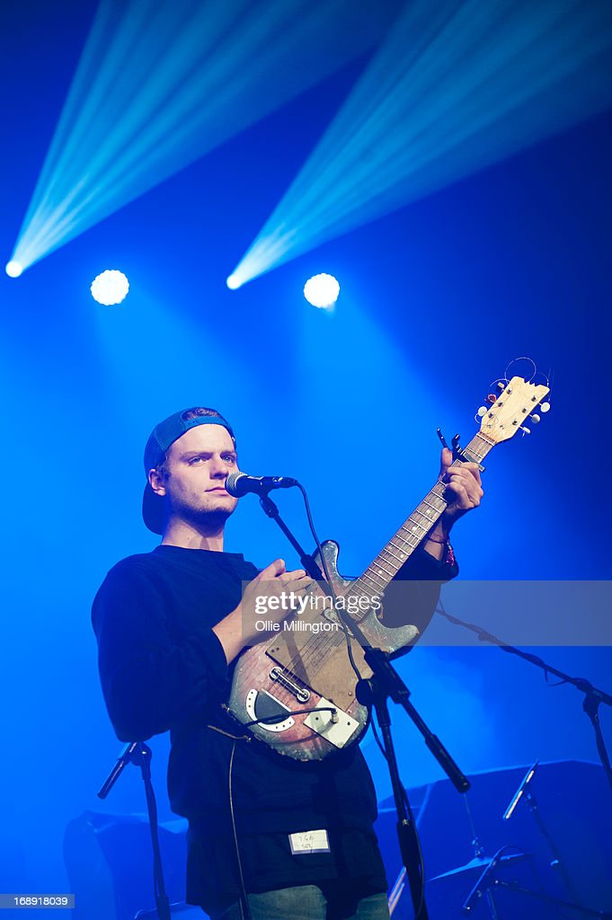 Mac Demarco performs on stage at The Corn Exchange on Day 1 of The Great Escape Festival on May 16, 2013 in Brighton, England.
