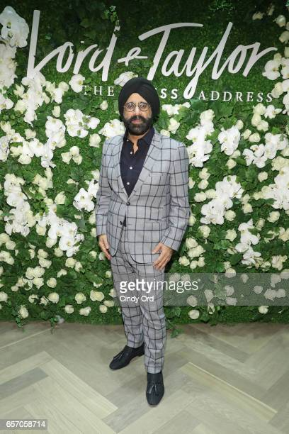Mac Duggal attends as Lord Taylor celebrates The Dress Address with Janelle Monae at Lord Taylor 5th Avenue on March 23 2017 in New York City