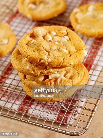 White Chocolate And Macadamia Nut Cookies Uk