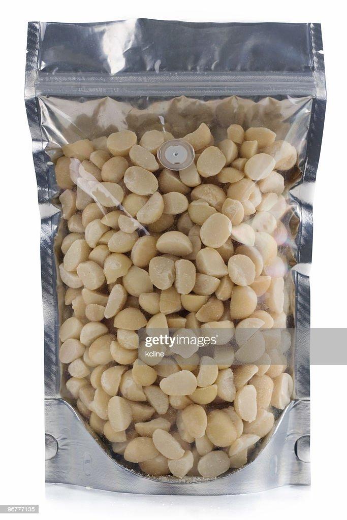 Macadamia Nuts Stock Photo