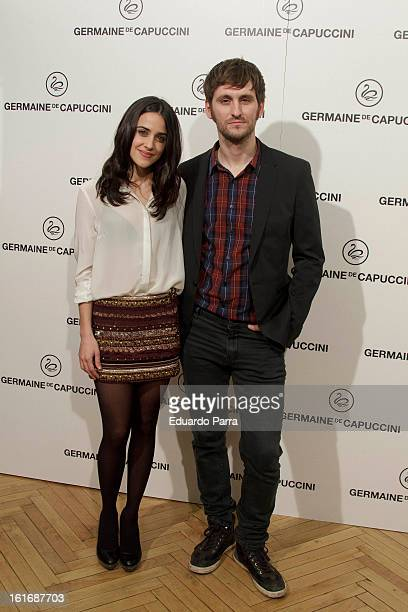Macarena Garcia and Raul Arevalo attend Carmen awards by Germaine de Capuccini photocall at Cinema Academy on February 14 2013 in Madrid Spain