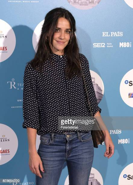 Macarena Garcia attends the James Rhodes Universal Music Festival concert at The Royal Theater on July 27 2017 in Madrid Spain