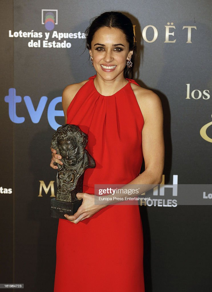 Macarena Garcia attends the official 'Goya Cinema Awards After Party' 2013 at Casino de Madrid on February 17, 2013 in Madrid, Spain.