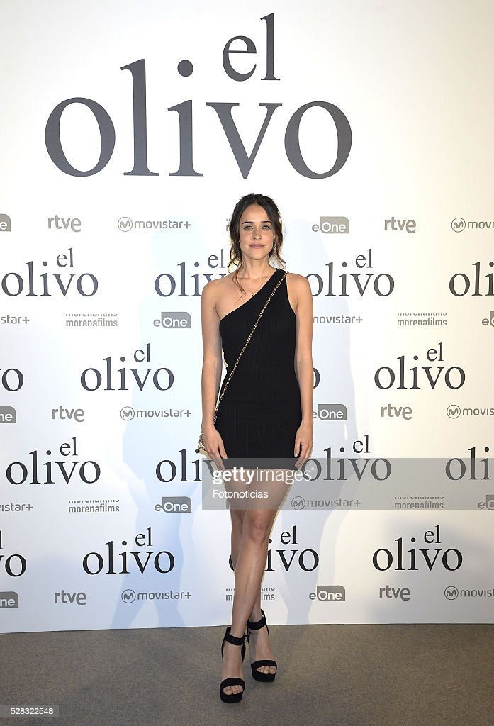 Macarena Garcia attends the premiere of 'El Olivo' at the Capitol cinema on May 4, 2016 in Madrid, Spain.