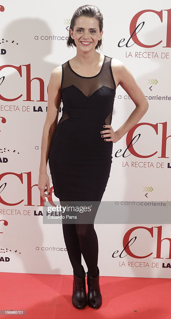 Macarena Gomez attends 'El chef, la receta de la felicidad' ('Comme un chef') premiere photocall at Palafox cinema on November 26, 2012 in Madrid, Spain.