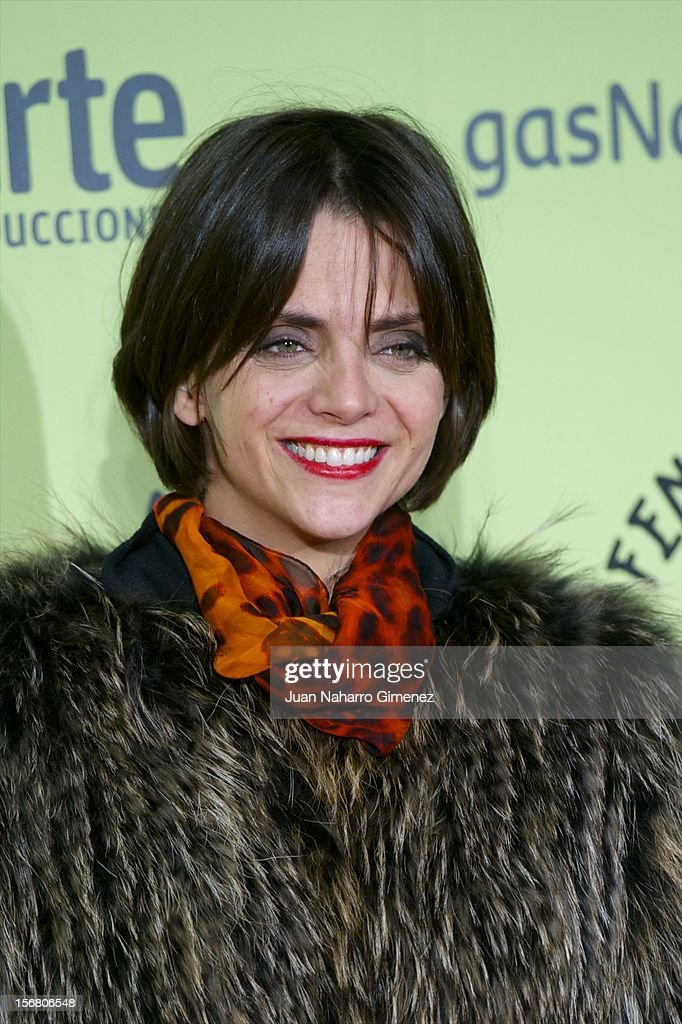 Macarena Gomez attends 'Fenomenos' Premiere at Callao Cinema on November 21, 2012 in Madrid, Spain.