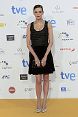 Macarena Gomez attends the 2015 Jose Maria Forque Awards at The Palacio Municipal de Congresos on January 12 2015 in Madrid Spain