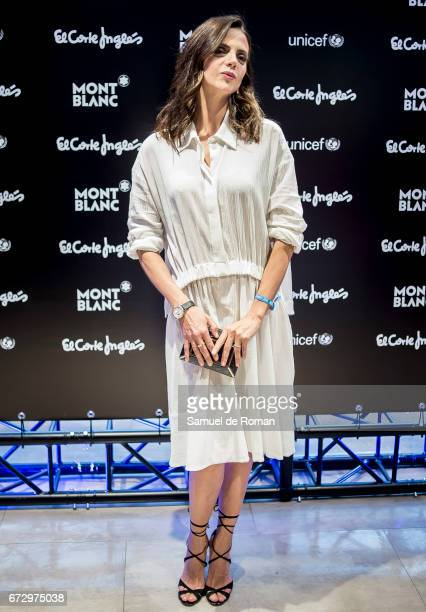 Macarena Gomez attends the Montblanc Presents Charity Collection For UNICEF on April 25 2017 in Madrid Spain