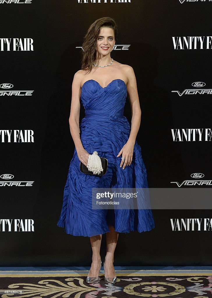 Macarena Gomez attends the 'Vanity Fair Personality Of The Year' Gala at The Ritz Hotel on November 16, 2015 in Madrid, Spain.