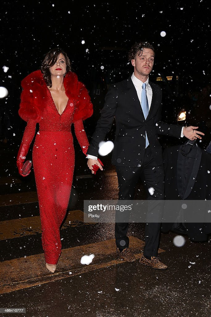 Macarena Gomez attends the Wedding of Andrea Casiraghi and Tatiana Santo Domingo at the Rougemont church on February 1, 2014 in Gstaad, Switzerland.