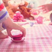 Macaron tea party