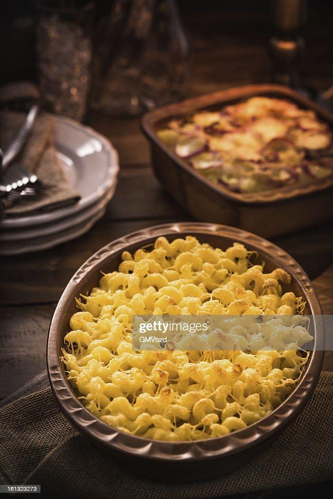 Macaroni and Cheese : Stock Photo