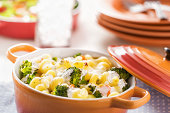 Macaroni Broccoli Gratin