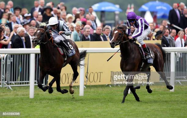 Macarthur ridden by Johnny Murtagh wins the Hardwicke Stakes at Ascot Racecourse Berkshire