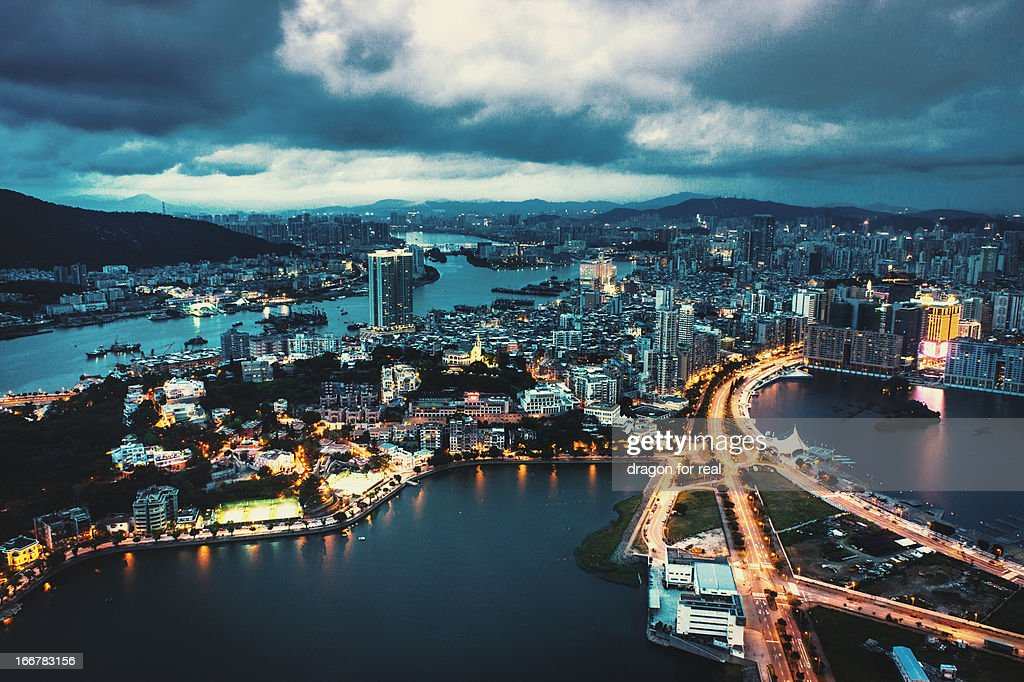 Macau in Dusk