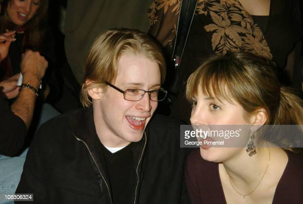 Macaulay Culkin and Eva Amurri during 2004 Park City Xbox Hosts 'Saved' AfterParty at 1167 Woodside Ave in Park City Utah United States