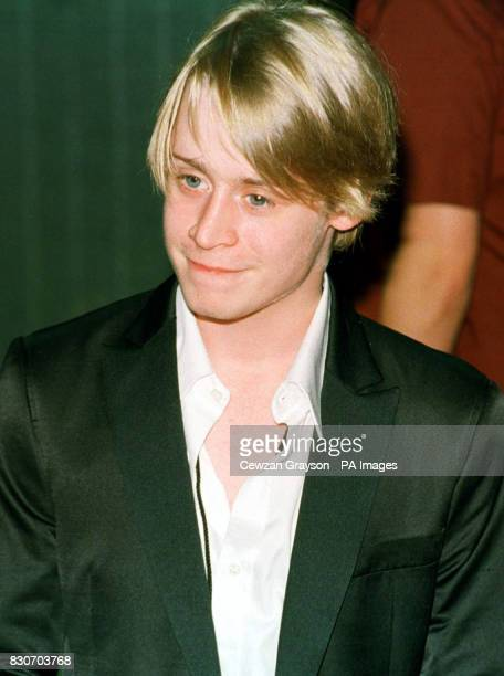 Macaulay Culkin arriving for the Michael Jackson Concert at Madison Square Garden in New York City
