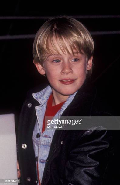 Macaulay Culkin attends Light Up A Life Benefit for Children's EMS Foundation on November 13 1991 at FAO Scharz Toy Store in New York City