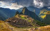 Macchu Pichu sunset