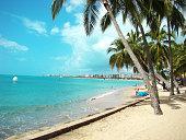 Beach landscape of Maceió - Alagoas - Brazil