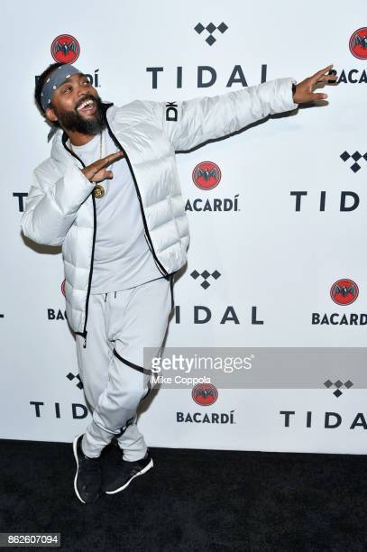 Machel Montano attends TIDAL X Brooklyn at Barclays Center of Brooklyn on October 17 2017 in New York City