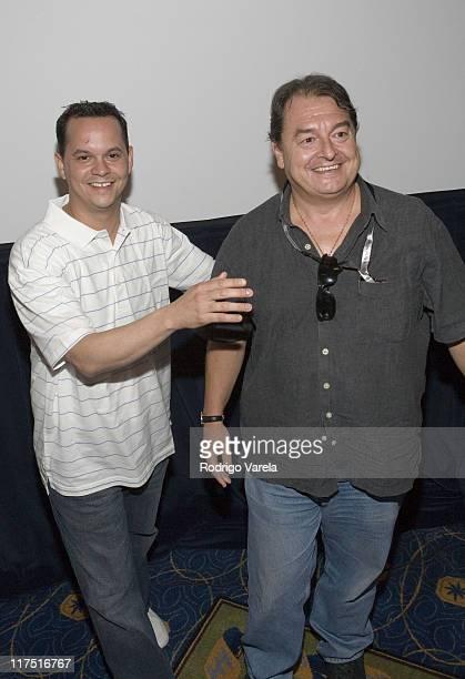 Machete President Gustavo Lopez and Universal Music Latino President John Echevarria
