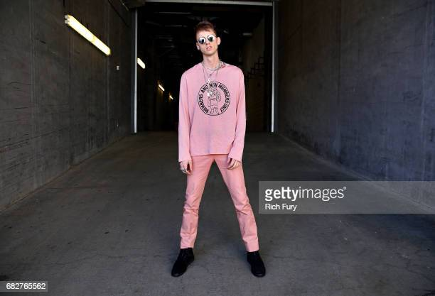 Machine Gun Kelly attends 1027 KIIS FM's 2017 Wango Tango at StubHub Center on May 13 2017 in Carson California