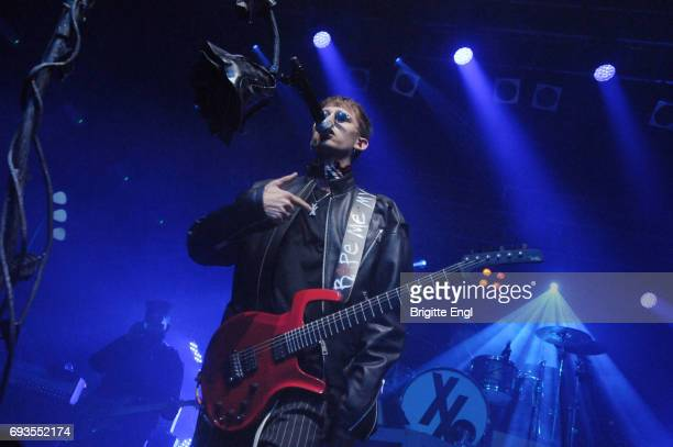 Machine Gun Kelly performs at KOKO on June 7 2017 in London England
