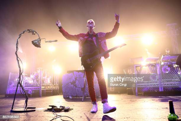 Machine Gun Kelly performs at O2 Academy Brixton on September 23 2017 in London England