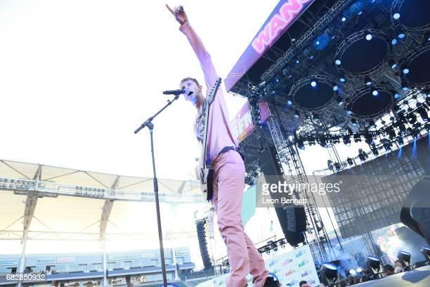 Machine Gun Kelly performs on stage at 1027 KIIS FM's 2017 Wango Tango at StubHub Center on May 13 2017 in Carson California