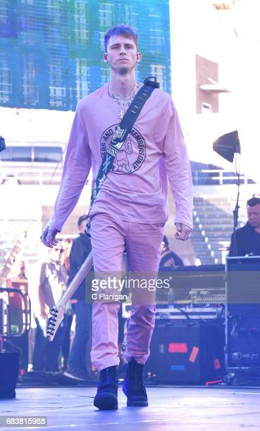 Machine Gun Kelly performs onstage during 1027 KIIS FM's 2017 Wango Tango at StubHub Center on May 13 2017 in Carson California