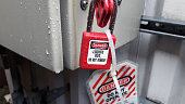 Lockout-tagout (LOTO) or lock and tag is a safety procedure which is used in industry and research settings to ensure that dangerous machines are properly shut off and not able to be started up again