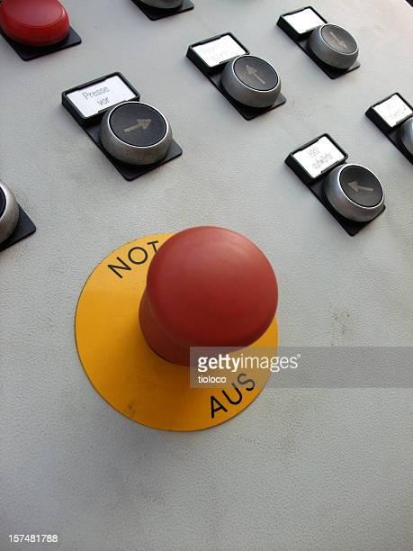 machine stop button