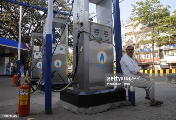Machines being shut at Hind Petrol Pump at Mahim