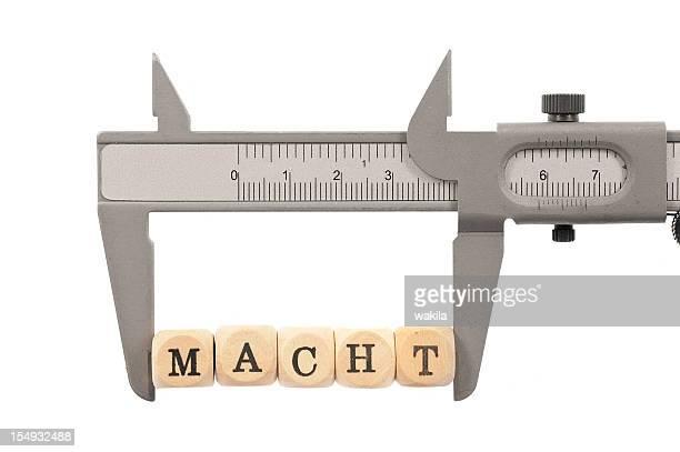 Macht messen-Einfluss