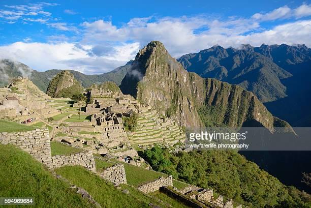 Machu Picchu, a UNESCO world heritage site of Inca Civilization, Peru