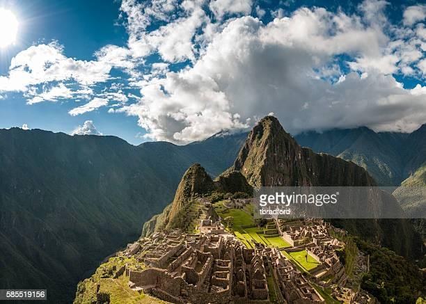 ペルーのマチュピチュ