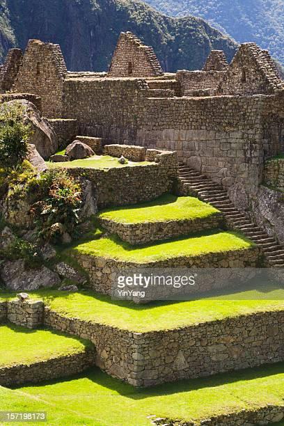 Inca Machu Picchu cultura y paisajes y arquitectura, Perú, América del Sur