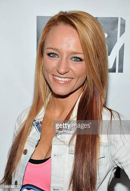Maci Bookout attends MTV 'Restore The Shore' Jersey Shore Benefit at on November 15 2012 in New York City