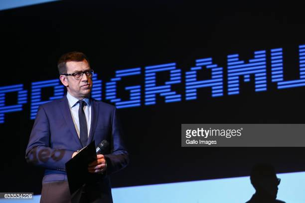 Maciej Orlos attends the inauguration of the campaign called programujgovpl on January 31 2017 in Warsaw Poland The campaign is organized by the...