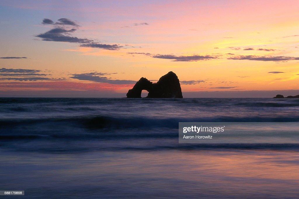 Mack Arch at Sunset